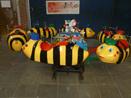 Footer bijen